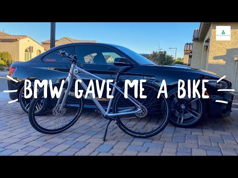 i-won-a-bmw-bicycle-(-taking-delivery-)-+-picking-up-bmw-m-performance-floor-mats-for-my-bmw-m2