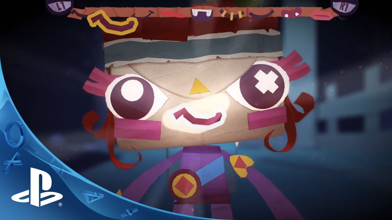 Tearaway Unfolded - Launch Trailer | PS4