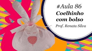 Patch & Arte – Coelhinho com bolso