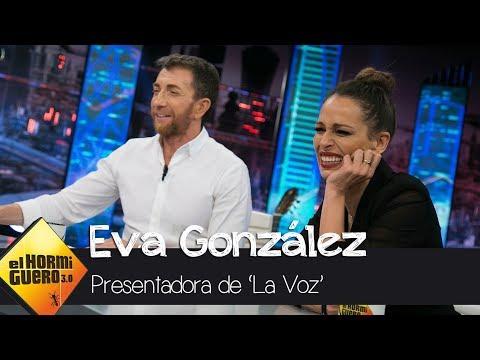 """Pablo Motos a Eva González: """"La Voz es magia, los concursantes son juzgados solo por su voz"""""""