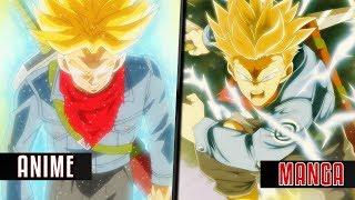 Future Trunks: Dragon Ball Super Anime vs Manga