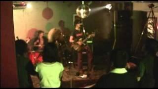 4th SEPT.2010 at LUCREZIA/HAMAMATSU SONG:CEMENT WOMEN KEN:GUITAR,VO...