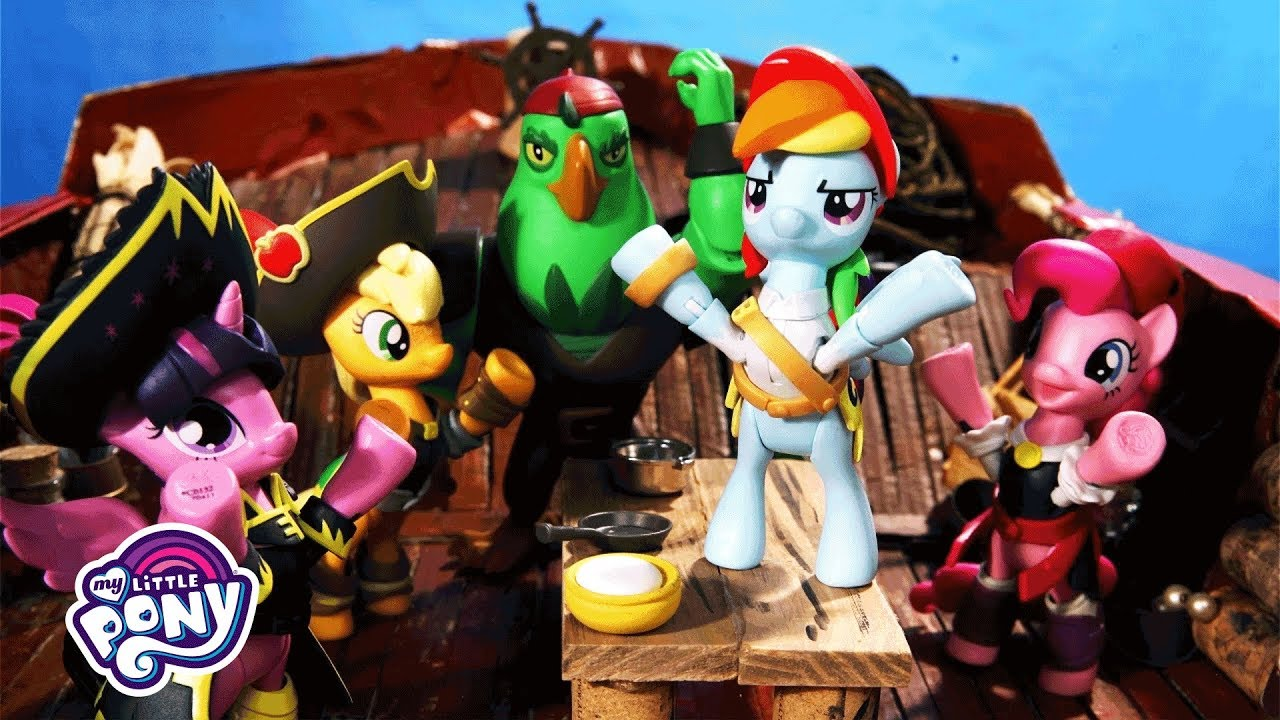 my little pony the movie the pirate ship official stop motion