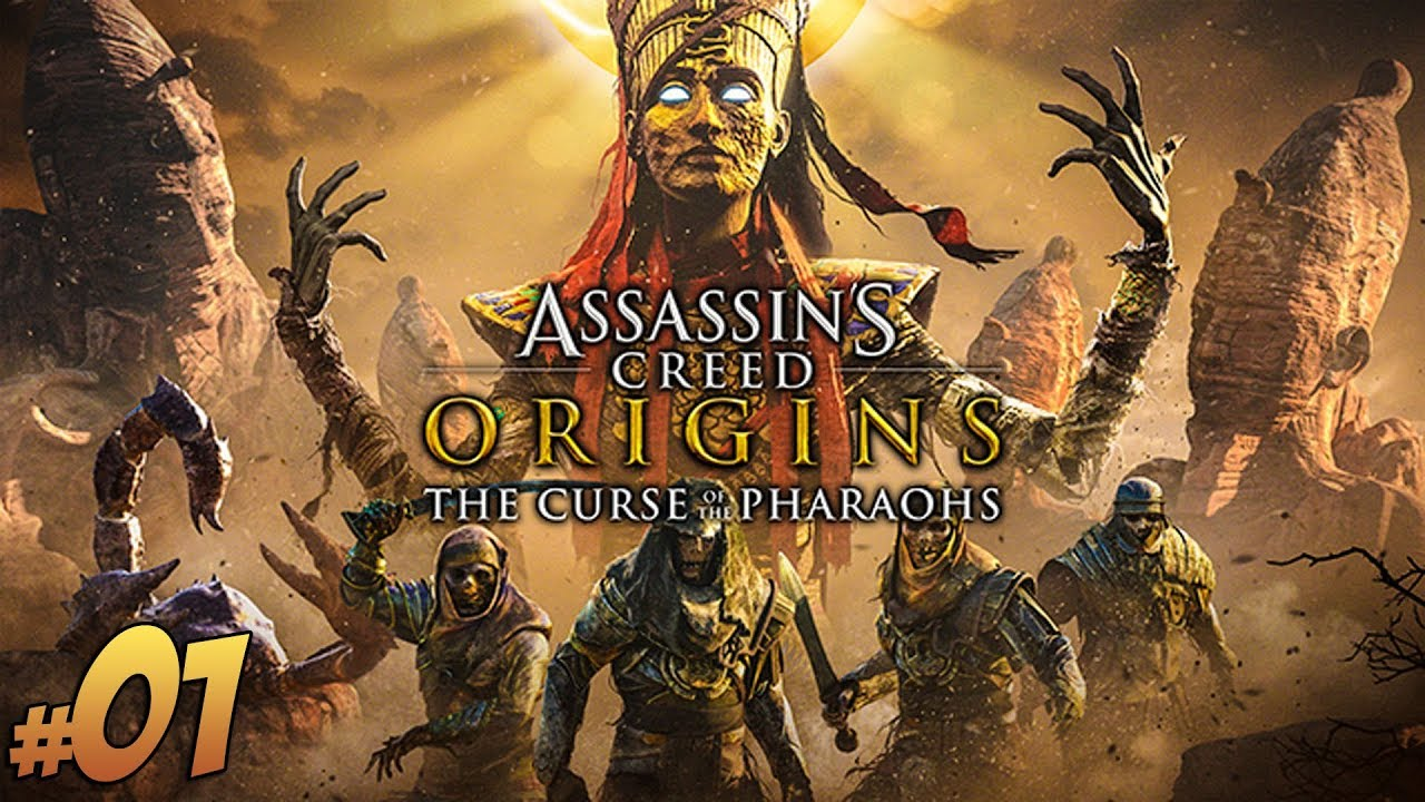 Assassin's Creed Origins: The Curse of the Pharaohs DLC #1 | Vertez | Klątwa Faraonów