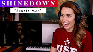 """Download Shinedown """"Simple Man"""" REACTION & ANALYSIS by Vocal Coach / Opera Singer"""