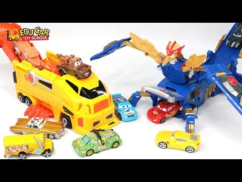 Thumbnail: Learning Color Special Disney Pixar Cars Lightning McQueen Mack Truck Transforming for kids car toys