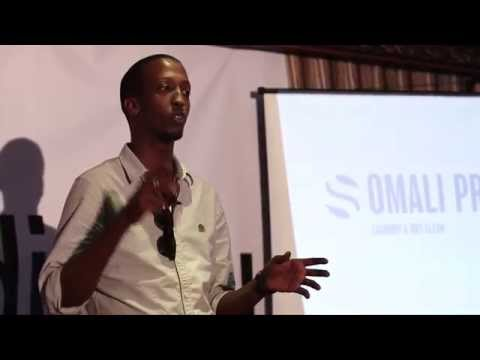 Starting the first dry cleaner in Mogadishu | Mohamed Mahamoud Sheik | TEDxMogadishu