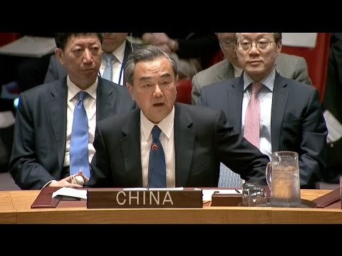 Chinese FM Warns Against Use of Force at UN Korean Peninsula Meeting