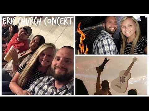 Eric Church Concert Vlog | Parents Night Out