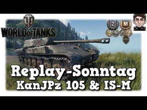 World of Tanks - KanJPz 105 & IS-M, was braucht man für ein Panzer Ass!? [deutsch | Replay] thumbnail