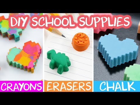 DIY BACK TO SCHOOL ART SUPPLIES