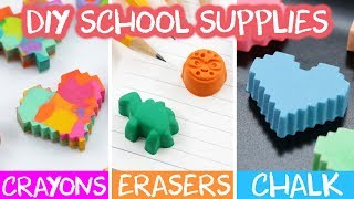 DIY BACK TO SCHOOL ART SUPPLIES