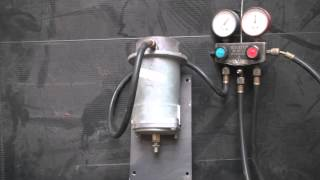 How the HVAC Pneumatic actuator works