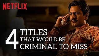 4 Titles that would be criminal to miss.