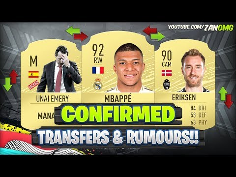 fifa-20-|-new-confirmed-transfers-&-rumours!!-😱🔥-|-ft.-mbappe,-eriksen,-emery..
