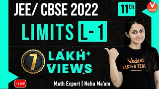 Limits L-1 | Class 11 Maths Chapter 13 | JEE Maths | JEE 2021 | Neha Agrawal Ma'am | Vedantu