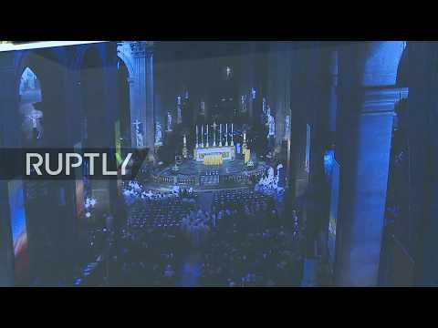 LIVE: Saint-Sulpice church rings the bells in honour of Notre Dame