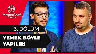 Trabzonspor Futbol Takımı Aşçısı Yemeğiyle Hayran Bıraktı - MasterChef 3. Bölüm