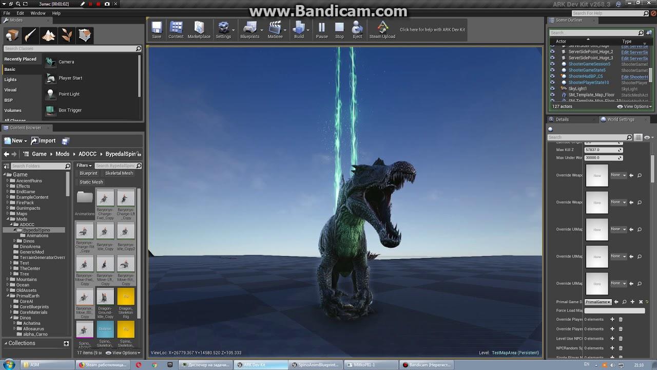 New spinosaurus for ark dinosaurus overhaul mod youtube new spinosaurus for ark dinosaurus overhaul mod malvernweather Images