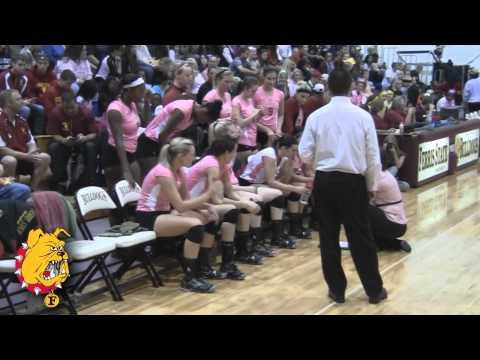 Ferris State University Vs. Saginaw Valley State University Volleyball (Oct. 1)