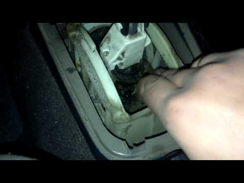 Регулировка кулисы на автомобиле дэу