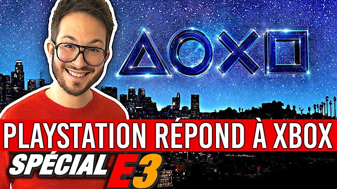 PLAYSTATION, LA RÉPONSE À XBOX E3 2018 (Last of Us 2, Resident Evil 2, Death Stranding...)