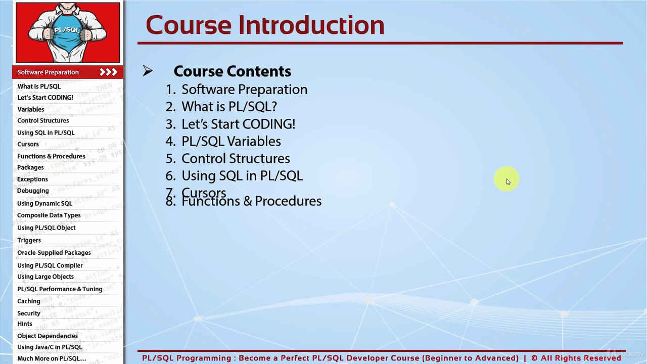 pl sql beginner to advanced become a perfect pl sql developer rh youtube com Oracle SQL Developer SQL View