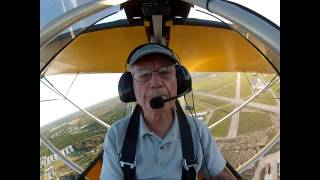 Excalibur Aircraft Fred Brown having fun April 2014
