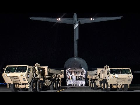 US Sends Strong Message To N. Korea And China: THAAD Missile Defense Deploys To S. Korea
