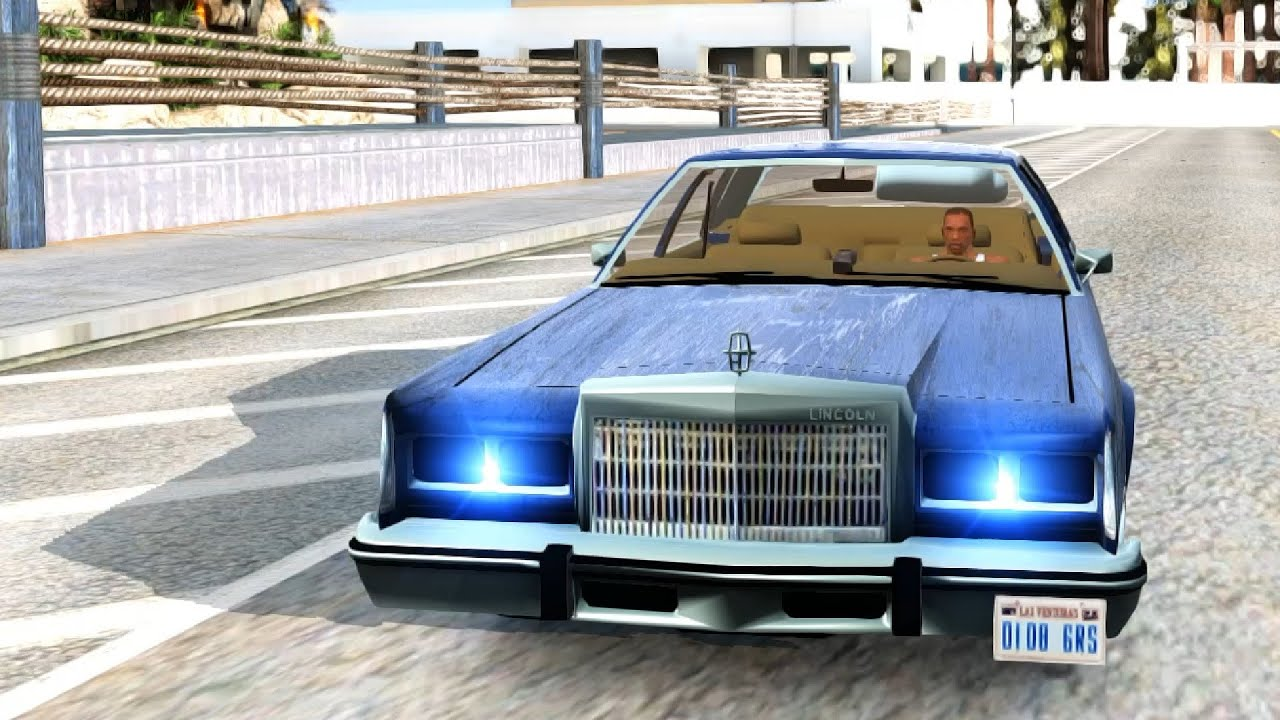 Lincoln Town Car '86 - GTA San Andreas | EnRoMovies - YouTube