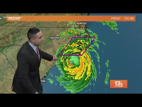 13News Now Daybreak Weather: Hurricane Florence Update for Sept. 14