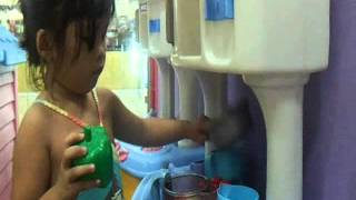 Kids Fashion - I Love Kitchen,Cooking,with Cabinet, Artificial Vegetable Thumbnail