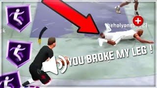 NOBODY KNEW THIS NEW ANKLE BREAKER WAS IN THE GAME !  TOP 5 ANKLE BREAKERS IN NBA 2K20