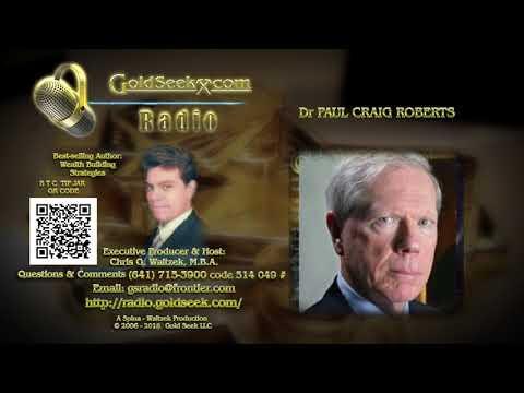 GSR interviews Dr PAUL CRAIG ROBERTS - May 31, 2018 Nugget