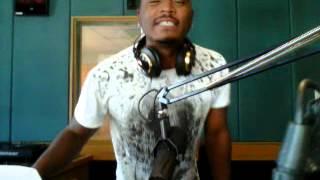 Madumane Singing in Studio