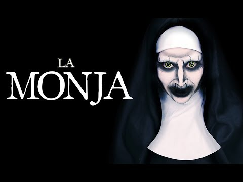 LA MONJA l THE NUN - MAKEUP TUTORIAL TRANSFORMATION - miku ♥ thumbnail