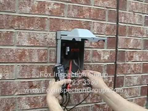 hqdefault air conditioning condenser improperly wired youtube eaton ac disconnect wiring diagram at bakdesigns.co