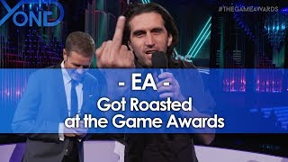 EA Got Roasted at the Game Awards