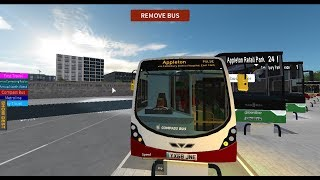 Roblox| Canterbury V4 - Wright Streetlite| PULSE to Appleton & Back