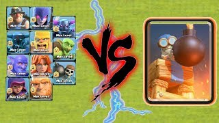 Bomb Tower Vs All Ground Troops 😱 Fantastic Gamplay - Clash of clans🔥unity clash😘
