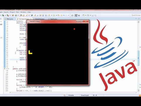 Java Game Coding - Basic Snake Game (ECLIPSE)