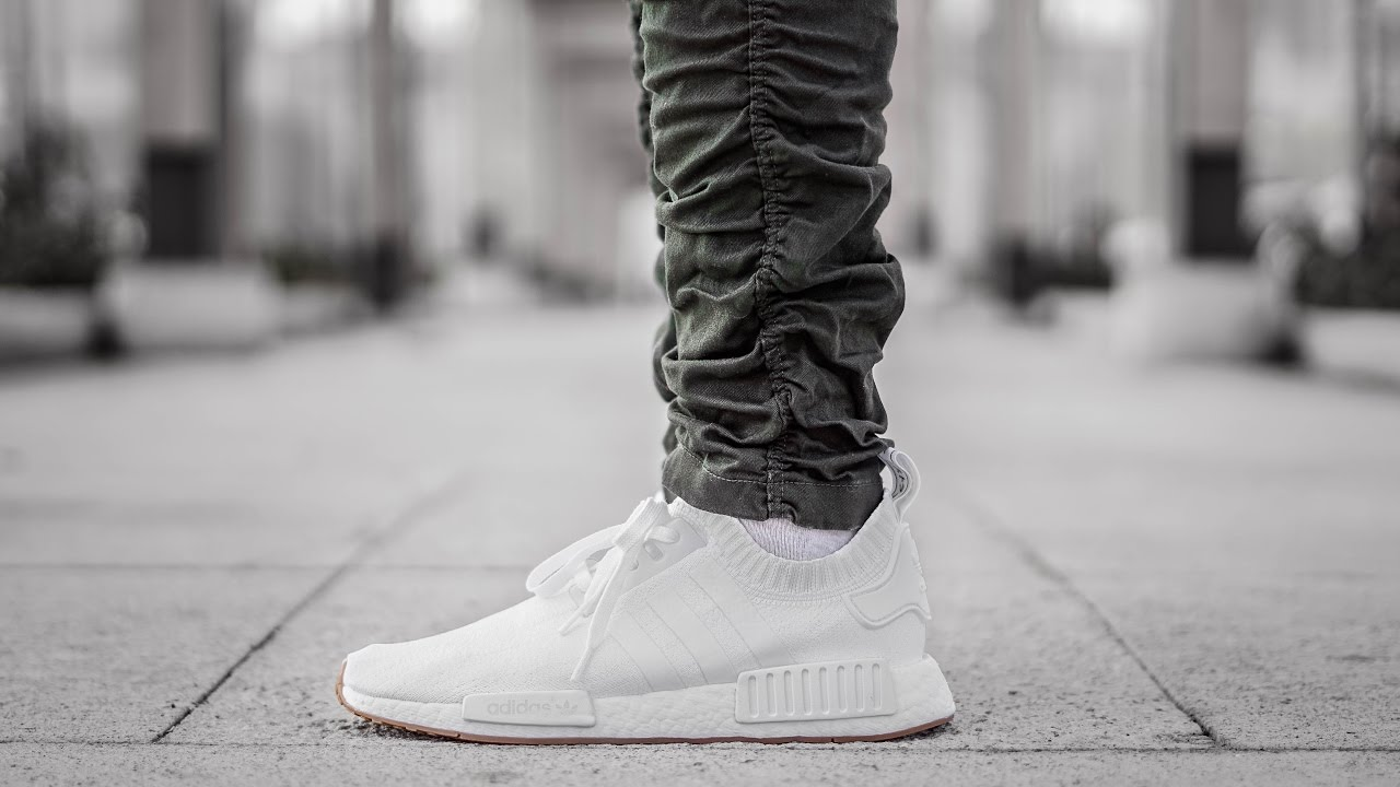 db754f99dbefb HOW I GOT BAIT AND SWITCHED (NMD WHITE GUM R1 PK ON FEET REVIEW ...
