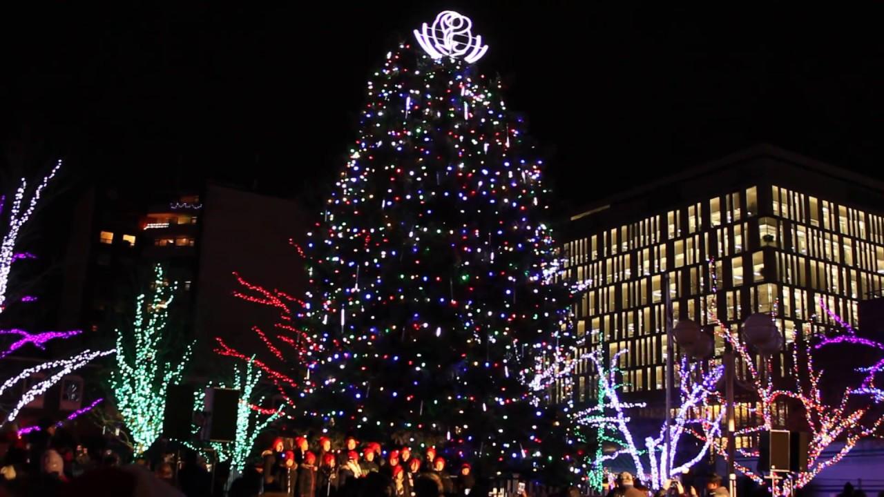 Br&ton Christmas Tree Lighting 2017 & Brampton Christmas Tree Lighting 2017 - YouTube