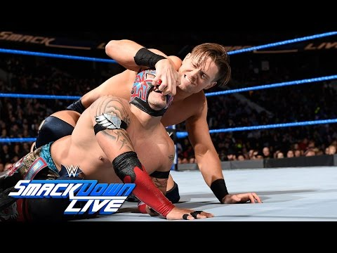 Kalisto vs. The Miz - Intercontinental Championship Match: SmackDown LIVE, Nov. 22, 2016