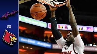 Louisville vs. Evansville Men's Basketball Highlights (2016-17)