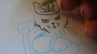 Kittens Queen of Swords Cats Tarot