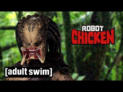 The Best of Predator | Robot Chicken | Adult Swim