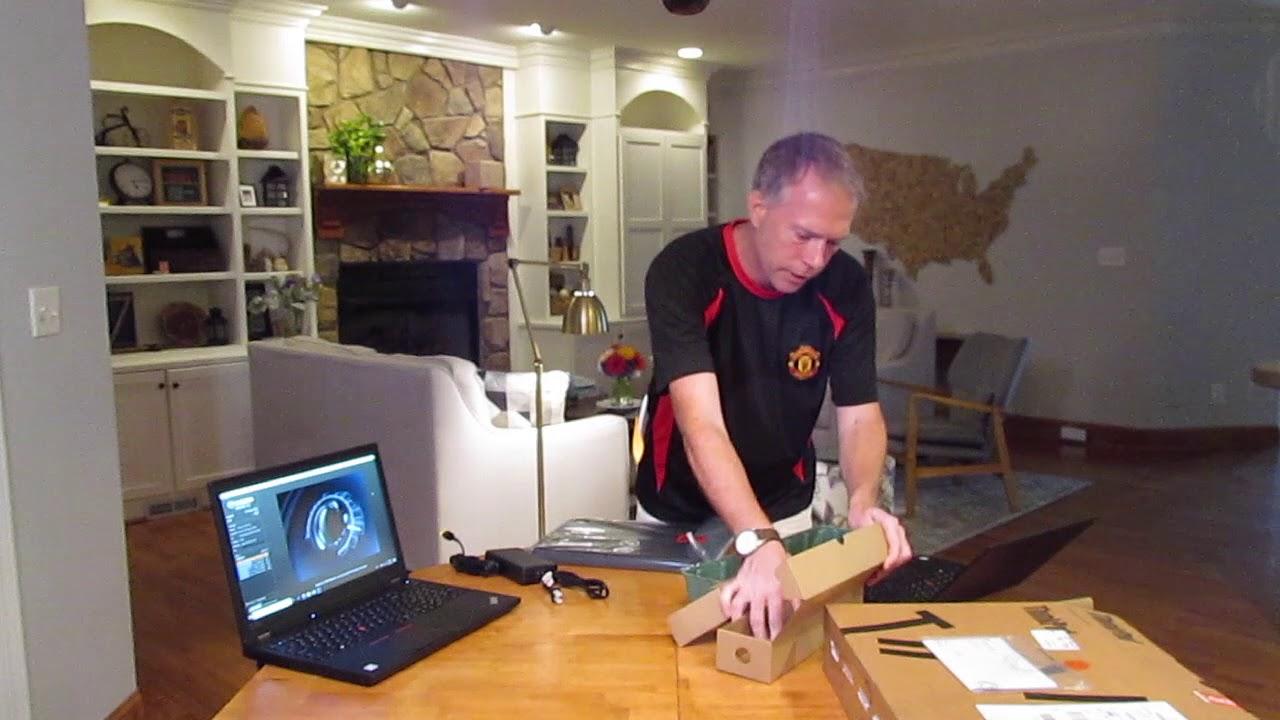 Unboxing Lenovo ThinkPad P52 (Mobile Workstation)