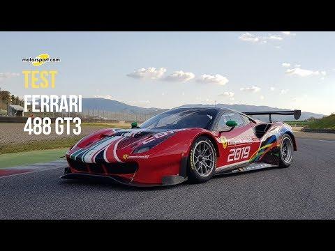 Ferrari 488 GT3 | In pista al Mugello per un test drive clamoroso!