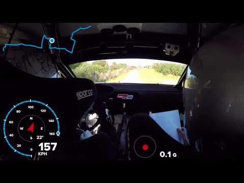 Rajd Nadwiślański 2017 | Jurecki / Trela | Peugeot 208 R2 - ON BOARD